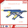 China Manufacturer Car Repair Equipment Double Cylinder High Quality Scissor Car Lift 4000