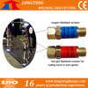 Oxygen and Fuel Gas Flashback Arrestor for Gas Cutting Torch