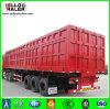 Two / Tri Axle Flatbed / Gooseneck Box Van Truck Trailer with 40t - 60t Loading Capacity