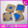 2015 Promotion Education Kids Jigsaw Puzzle Toy, Children Brainteaser Tangram Gam, Eco-Friendly Wooden Tangram Puzzle Game W14f025