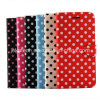 Polka DOT PU Leather Case for iPhone 6 Plus 5.5inch