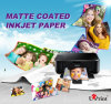 High Quality Inkjet Glossy A4 Photo Paper Matte Coated Paper