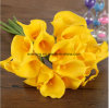 High Hand-Feeling Artificial PU Mini Calla Lillies Wholesale Cheap Mini Calla Lillies Artificial Calla Lily Flower in Vase