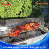 Large Capacity Chicken Charcoal Rotisserie BBQ Grill Machine