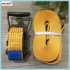 Heavy Duty Polyester Webbing Cargo Ratchet Lashing Tie Down