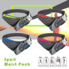 Fashion Design Canvas Waist Sports Bag /Fanny Pack Secure Travel Case Adjustable Belt Sport Pouch Waist Bag