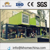 Windproof Steel Fram Prefab Container House for Store