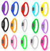 Lady′s Jelly Silicone Electronic Digital Sports Bracelet Watch