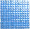 Blue Glass Mosaic Tile for Kitchen Backsplash