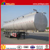 Tri-Axle 60000 Liters Stainless Steel Fuel Oil Tanker Semi Trailer