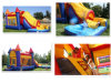Inflatable Water Slide With Pool (AQ-1011B)