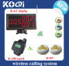 Wireless Restaurant Electronic Call System in 433.92MHz with CE