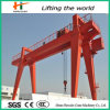 Hydraulic Workshop Double Girder Gantry Crane with Hook
