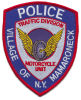 Fashion Custom Design Embridery Patch Police Badge