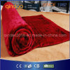 Burgundy Soft Fleece Electric Over Blanket with Ce GS Certificate