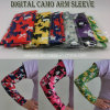 Custom Logo Digital Camo Arm Sleeves with Sublimated Printing