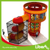 Roto-Moulded Plastic Spider Tower Slide with Metal Safety Enclosure