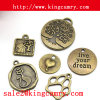 Metal Charms Tags Pendants Charms Metal Charms Alloy Charm