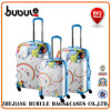 Expandable Printed 3-Piece 4-Wheeled Spinner Luggage Set