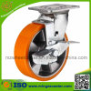 Industrial Medium Heavy Duty Swivel Caster with Side Brake Wheel