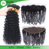 Raw Virgin Brazilian Hair Deep Wave Hair Frontal 13X4 Wholesale