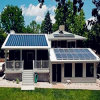 Solar House for Green Living (Econova)
