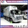 4X2 140HP High Quality Aumark Foton Refrigerated Truck
