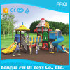 Plastic Slide Type Plastic Swing and Slide Kids Outdoor Playground (FQ-KL059A)