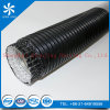 4 Goffers Aluminum Semirigid Fire Resist Aluminum Flexibl Duct for Heating Semi