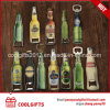Custom Bottle Shape Epoxy Beer Metal Bottle Opener with Magnet