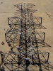 High Voltage Power Transmission Line Lattice Steel and Tubular Tower