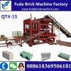 Pakstan Price Qt4-15 Fully Automatic Stone Paver Brick Machine