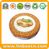 Round Food Can for Fruit Candy, Metal Tin Can Container