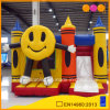 Smiling Face Inflatable Castle Combo with Slide (AQ07129)