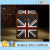 Modern America Flag Leather Executive Room Side Table for Cabinet