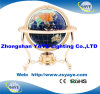 Yaye 18 Hot Sell Gold Plated Stand Gemstone Globe for Office Decoration / Home Decoration