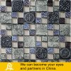 Resin Mix Wall Paper Glass Mosaic with Stone and Metal