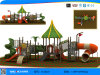 Hot Sale Outdoor Plastic Slide Playground Equipment (YL30637)