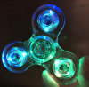 Transparent Plastic LED Noctilcent Hand Spinner