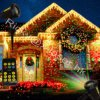 Firefly Light Waterproof Outdoor Christmas Light Star Show Laser Projector