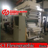 High Speed 6 Color Paper Flexographic Ci Printing Machine