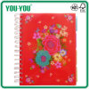 W&O Notebook with PP Cover Pocket Cover, High Valued College Pad, with Removable Dividers