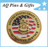 3D Gold Coin with Special Edge, Metal Coin, Military Coin