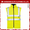 Fashion Workwear Fluorescent Yellow Safety Vest (ELTHVVI-4)