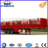 Semi Trailer Manufacturers Supply Fence Cargo Semi Trailer/Stake Semi Trailer