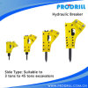 Excavator Mounted Hydraulic Breaker Chisel Manufacturer