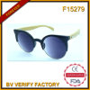 F15279 High Quality Bamboo Temple Sunglasses