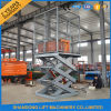 Fixed Vertical Platform Scissor Cargo Lift with Ce