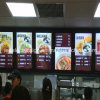 Restaurant Equipment for Light Box Fast Food with Menu Board