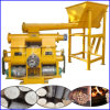 Piston Type Biomass Solid Fuel Wood Sawdust Briquette Machine